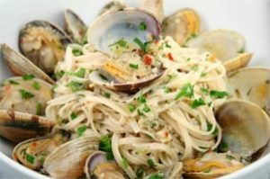 Linguini & Fresh Clam Sauce
